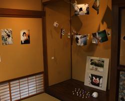 恒例アートイベント「春山登山」、蔵織での作品_d0178448_9535339.jpg