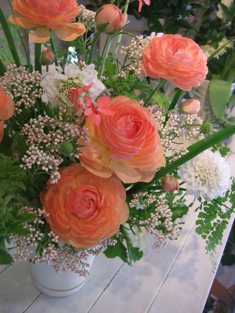 オークリーフ花の教室(加田さんの作品)_f0049672_1710202.jpg