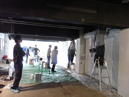 黒板塗料教室!_e0039922_2224956.jpg