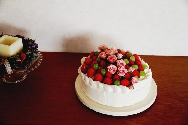 オットさん の バースデーケーキ*_d0034447_20343735.jpg