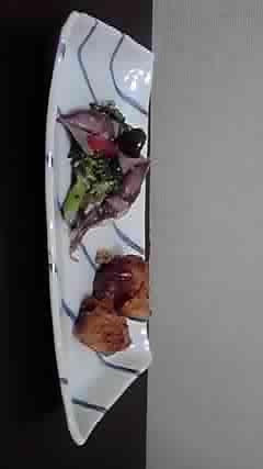 砂田さんのお皿に_b0132442_22513640.jpg