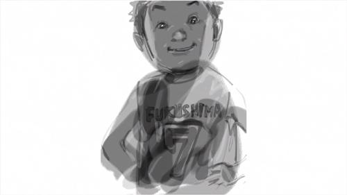 漫画家・井上雄彦×バンプによる復興支援ポータルサイトTV-CMが4/15からオンエア_e0197970_23184521.jpg
