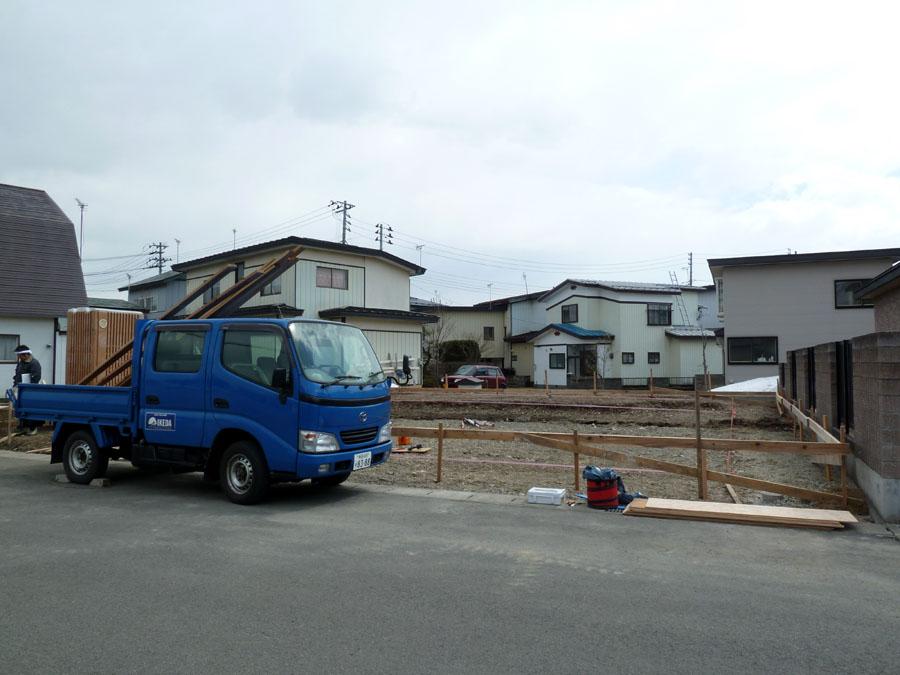 K様邸「船場町の家」  遣り方_f0150893_16382781.jpg