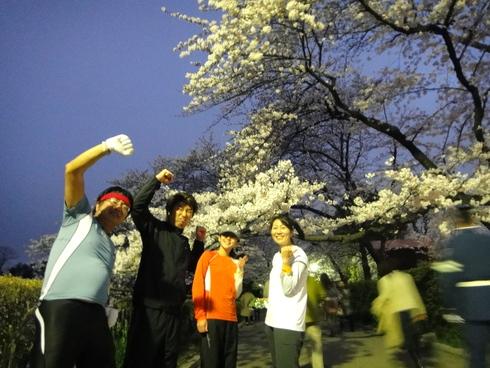 皇居夜桜花見RUN_d0122797_80959.jpg