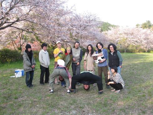「IBIZA花見会」へ~~_a0125419_9471549.jpg
