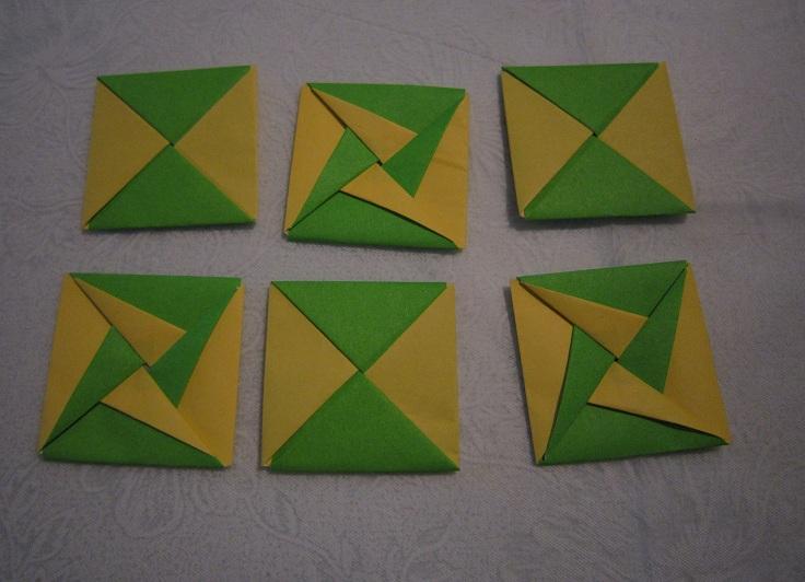 簡単 折り紙 折り紙 めんこ : senn0haru.exblog.jp