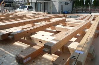 遠賀郡水巻町にて・・・建て方前_b0112371_16343299.jpg