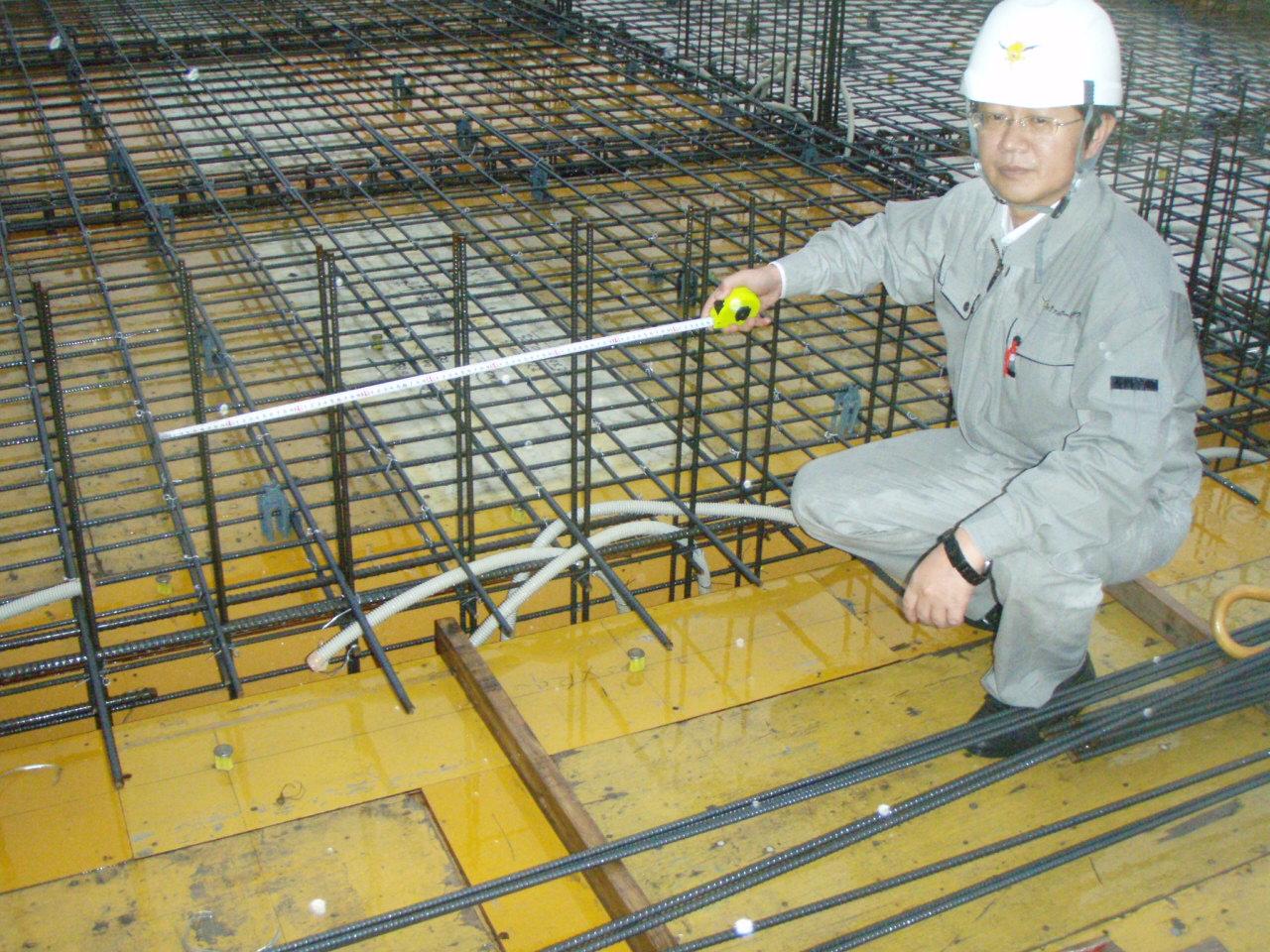 1階壁の型枠工事完了~宮崎の動物病院_d0174072_9294335.jpg