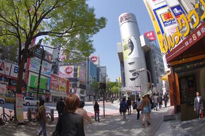 4月14日(木)今日の渋谷109前交差点_b0056983_13375772.jpg