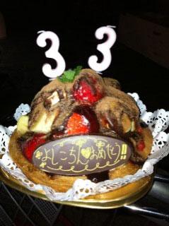 【八尾店レセプショニスト高】芳村さんの誕生日_c0080367_1174832.jpg