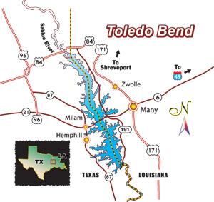 Bassmaster Elite Series #4 Toledo Bend, LA 初日_a0097491_82779.jpg