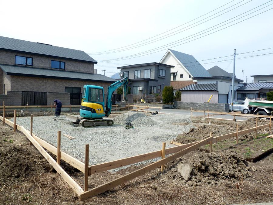K邸「船場町の家」 基礎工事_f0150893_1713489.jpg
