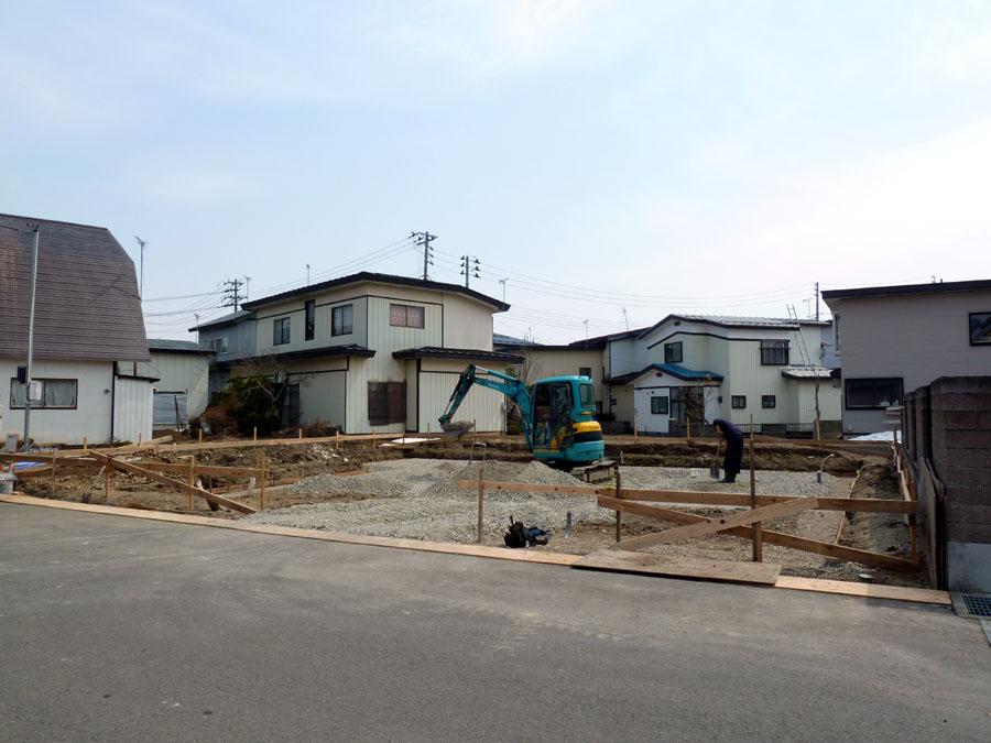 K邸「船場町の家」 基礎工事_f0150893_1714868.jpg