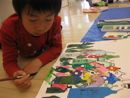 名画の模写・ビンのコンポジション~松井山手教室_f0215199_1283341.jpg