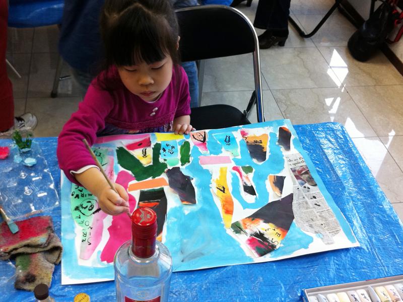 色彩構成・瓶のコンポジション あべの教室_f0215199_23112646.jpg