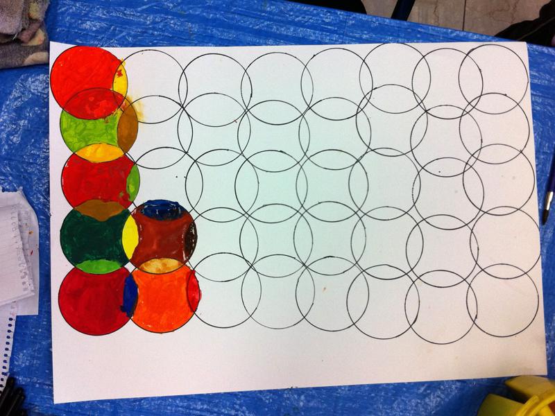 色彩構成・瓶のコンポジション あべの教室_f0215199_23124738.jpg