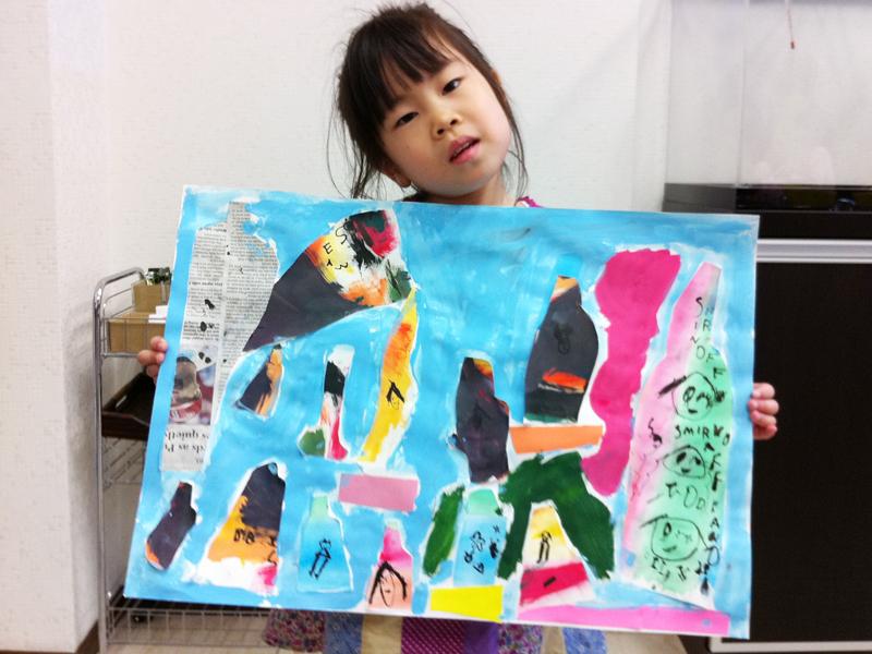 色彩構成・瓶のコンポジション あべの教室_f0215199_23193677.jpg