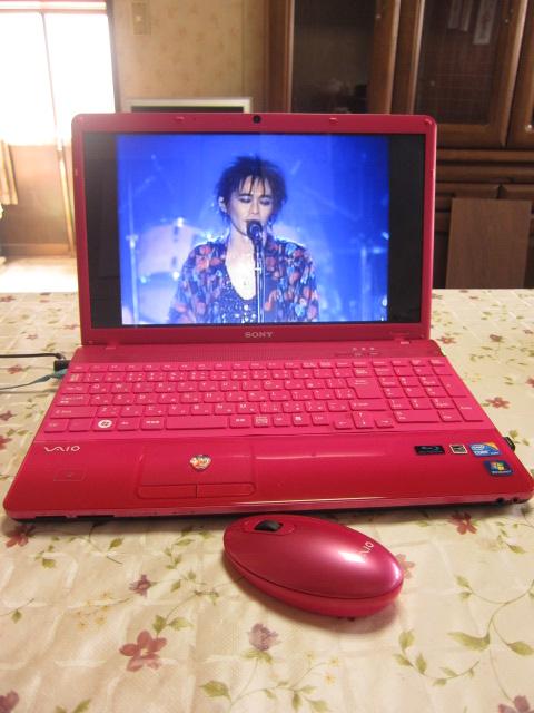 新しいパソコンはピンク♥_f0209683_1461981.jpg
