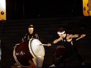 「響け、とどけ成田の祈り」奉納成田太鼓祭 その2 成田千年夜舞台_b0175688_2315543.jpg