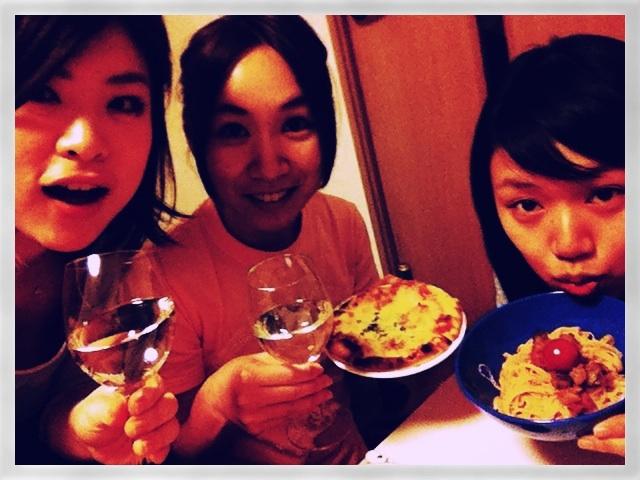 wine & pasta!!いかす_f0174088_1272079.jpg