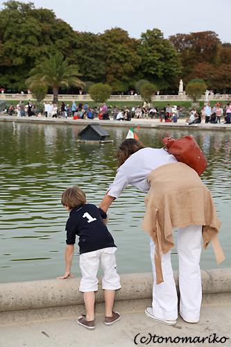 公園のアナログ船あそび♪_c0024345_22313511.jpg