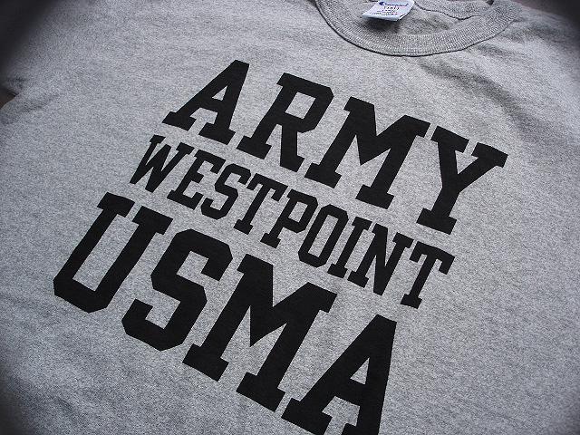 "NEW : Champion \""T1011\"" [S/S T-SHIRT] USMA & BRADLEY Univ. [Made in U.S.A.] !!_a0132147_014576.jpg"