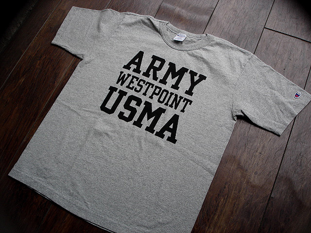"NEW : Champion \""T1011\"" [S/S T-SHIRT] USMA & BRADLEY Univ. [Made in U.S.A.] !!_a0132147_0154459.jpg"