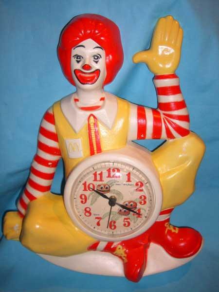 McDonald\'s(マクドナルド)のドナルドやフライガイ、ポテトの時計_c0084047_7283741.jpg