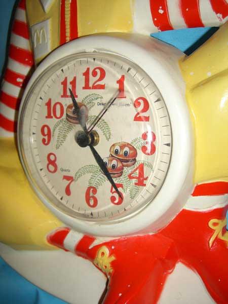 McDonald\'s(マクドナルド)のドナルドやフライガイ、ポテトの時計_c0084047_7312399.jpg