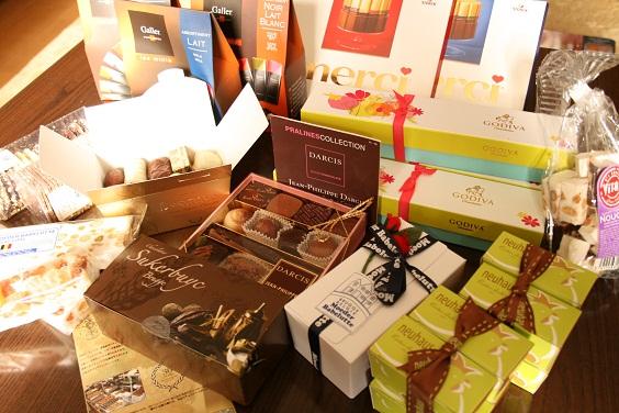 ベルギー土産のチョコレート。_e0045565_1715279.jpg