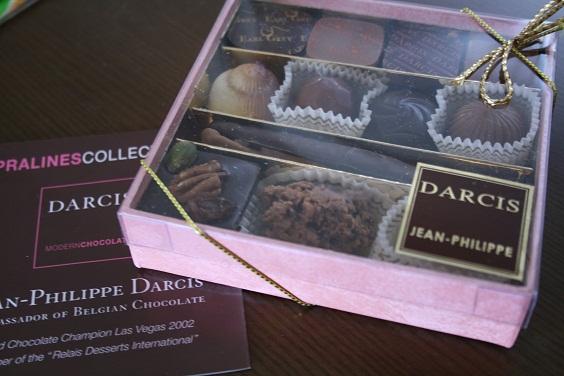 ベルギー土産のチョコレート。_e0045565_172581.jpg