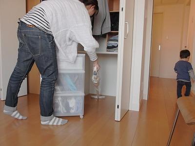 新築住宅の整理収納作業(クローゼット編) その2_c0199166_8451674.jpg