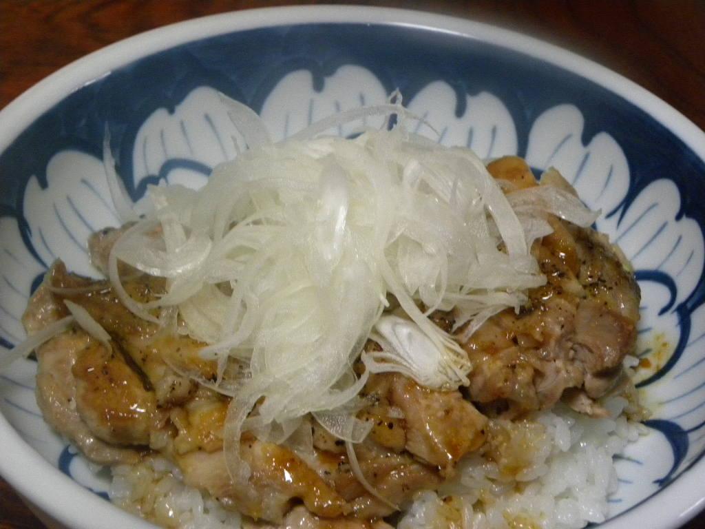 鶏丼_c0162773_12513236.jpg