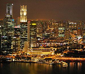 a night view@Marina Bay Sands_b0195783_19193541.jpg