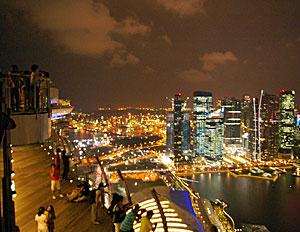 a night view@Marina Bay Sands_b0195783_1919394.jpg