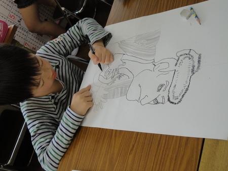 ビンのコンポジション・名画の模写 長尾教室_f0215199_2314751.jpg