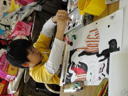 ビンのコンポジション・名画の模写 長尾教室_f0215199_23171867.jpg