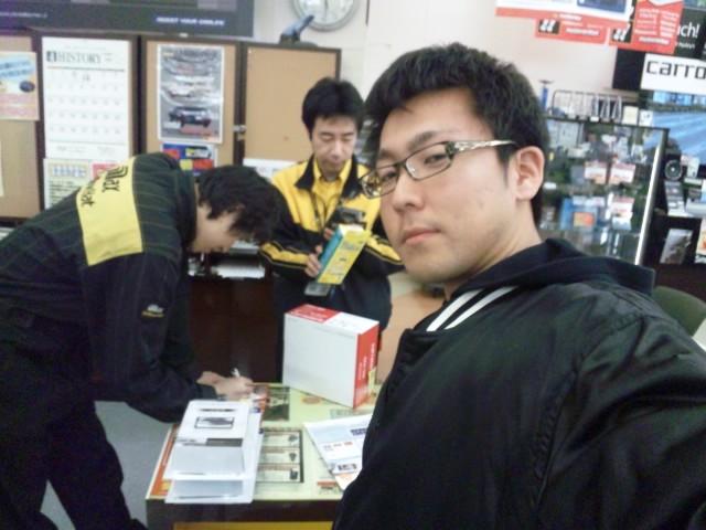 店長のニコニコブログ!F田様 アリスト 御成約☆_b0127002_22575475.jpg