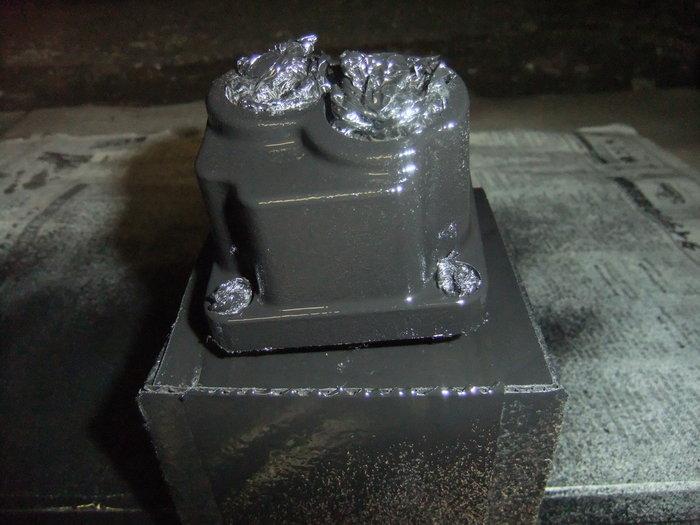 エンジンパーツを黒リンクル塗装!!_c0226202_2153987.jpg