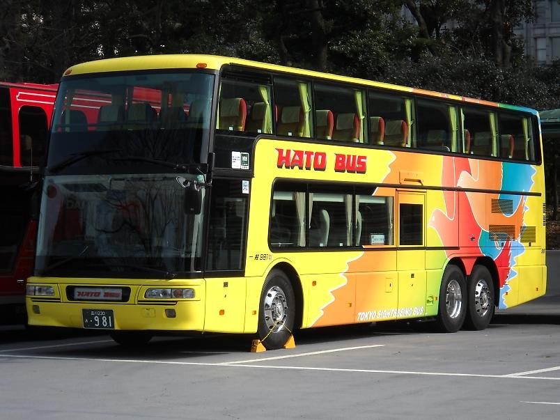 はとバス エアロキング981&881_e0004218_20161126.jpg