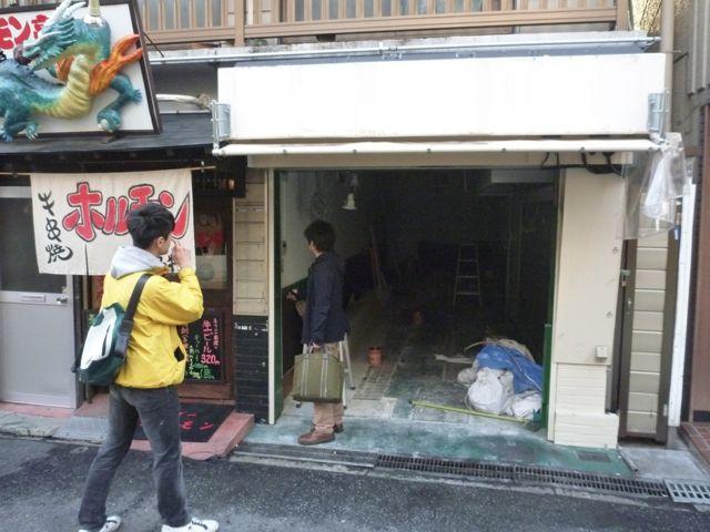 ビストロバールJIN  開店準備中_b0054727_1483383.jpg