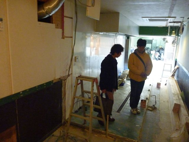 ビストロバールJIN  開店準備中_b0054727_1525551.jpg