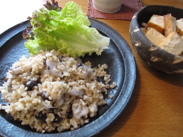 玄米ごはんとライ麦パン_f0180433_14173727.jpg