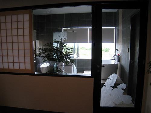 1月 沖縄 宮古島 THE AMARTA CLUB VILLA バスルーム_a0055835_19571017.jpg