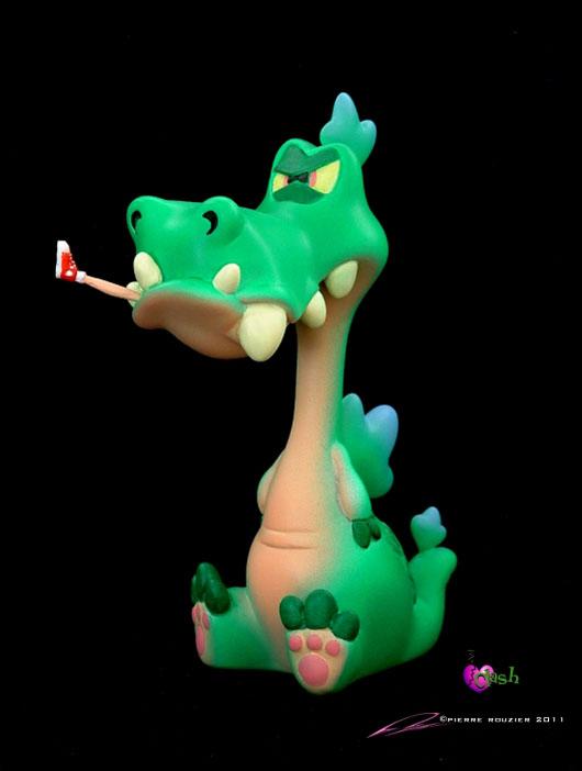Candy cKaiju Green by Pierre Rouzier_b0214553_20233042.jpg