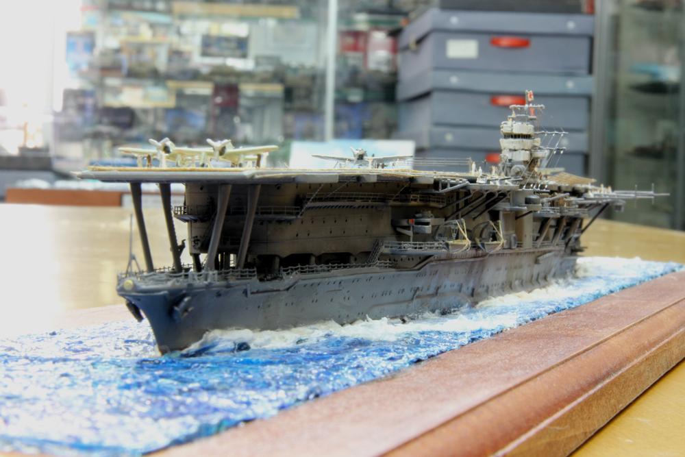2011年模競第2戦 1/700洋上ディオラマ -2_f0145483_165336.jpg