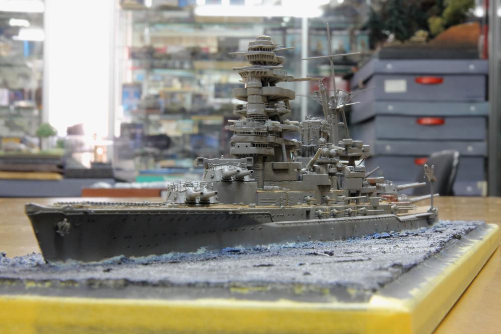 2011年模競第2戦 1/700洋上ディオラマ -2_f0145483_17143313.jpg