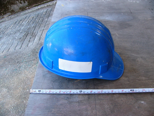 工事用ヘルメットのスケールモデル?_e0146402_23305594.jpg