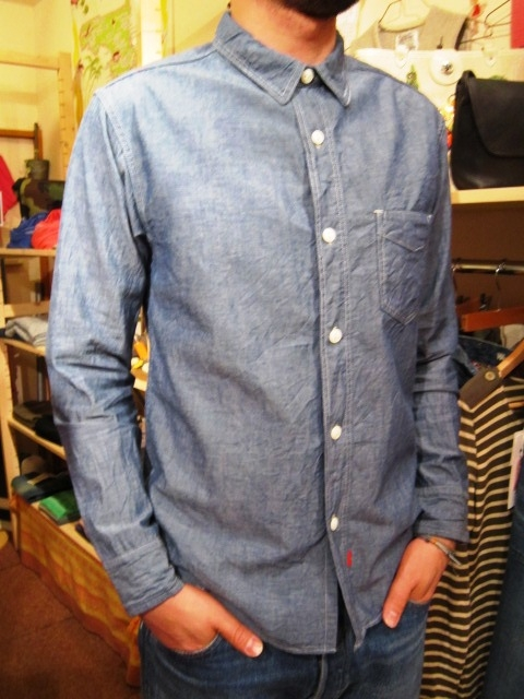 "ANACHRONORM ""Shambray Shirts & Work Cap\"" 入荷!_f0191324_1174525.jpg"