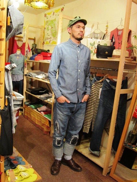 "ANACHRONORM ""Shambray Shirts & Work Cap\"" 入荷!_f0191324_119123.jpg"